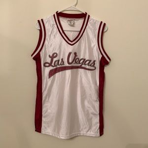 Other - Las Vegas basketball jersey vintage